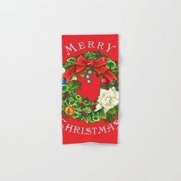 Merry Christmas Hand & Bath Towel