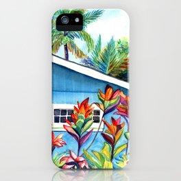 Hanalei Cottage iPhone Case