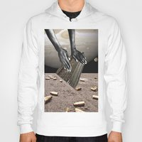 architect Hoodies featuring Dead Architect by DadaSoulFace