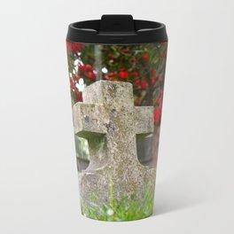 Cemetery Spring Metal Travel Mug