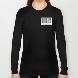 Made in India Barcode Pride Long Sleeve T-shirt