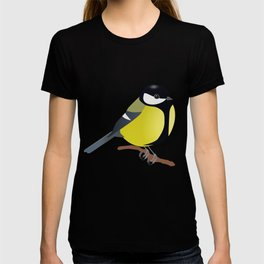Black tit T-shirt