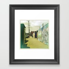 Fifteenth St. San Francisco Framed Art Print