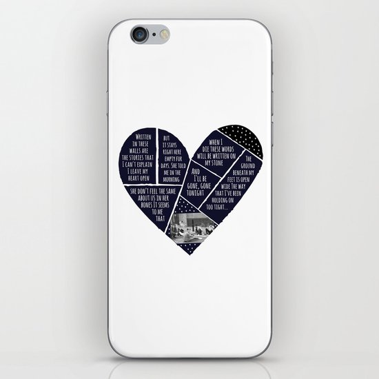Story in Heart iPhone & iPod Skin