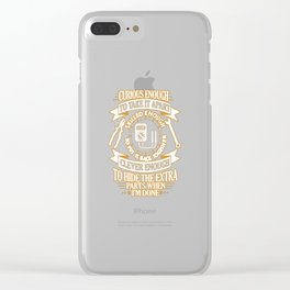 ELECTRICIAN Clear iPhone Case