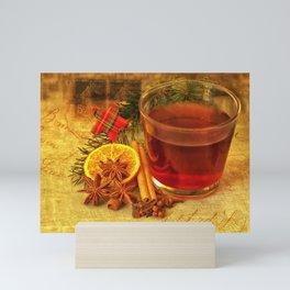 Winter Tea Mini Art Print