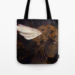 Clockwork Crown Tote Bag