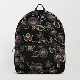 Beautiful brooches Backpack