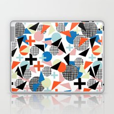 Kimbah - abstract art print shapes modern geometric retro cool colorful hipster gift idea dorm room  Laptop & iPad Skin