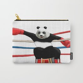 Boxing Panda Carry-All Pouch