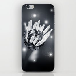 BLACK BEAUTY II iPhone Skin