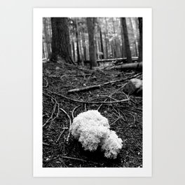 That White Noontide Cloud Art Print