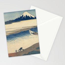 Hokusai Katsushika -  The Tama River In Musashi Province Stationery Cards