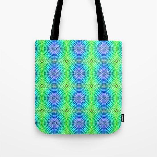 Mosaic pattern lightgreen  Tote Bag