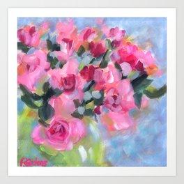 Petite Pinks Art Print