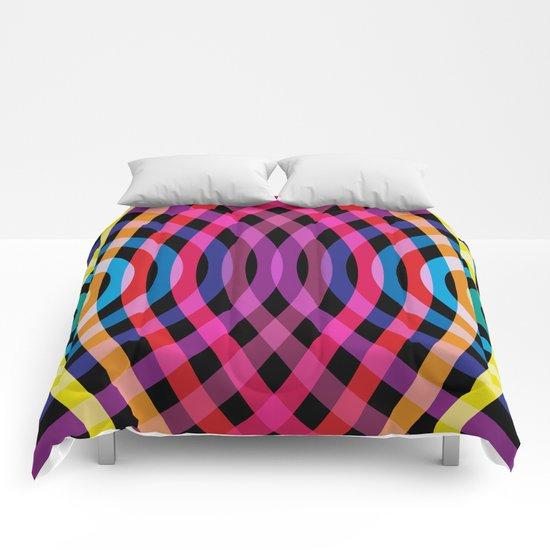 Ripple pattern Comforters