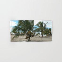 Coconut Tree Tropical beach Palm trees, Brazil Hand & Bath Towel