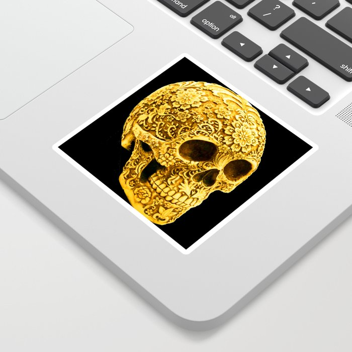 For the Love of Gold Sticker