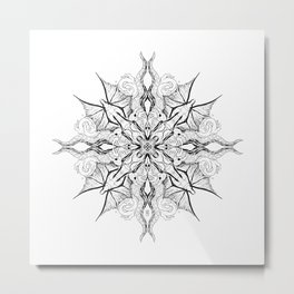 mandala for Nash Metal Print
