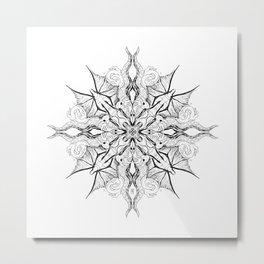 mandala for Nash Metal Print