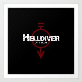 Helldiver of Lykos Art Print