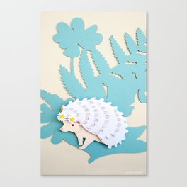 Queen of the Hedge Canvas Print