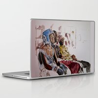 boxing Laptop & iPad Skins featuring BRONX BOXING BOYZ by ARTito