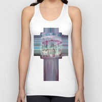 carousel Tank Tops featuring Carousel by Heidi Fairwood