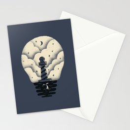 Sea the light Stationery Cards