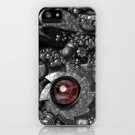 Mechanical eyesight iPhone Case