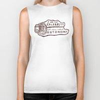 celebrity Biker Tanks featuring Celebrity & Autonomy by Josh LaFayette