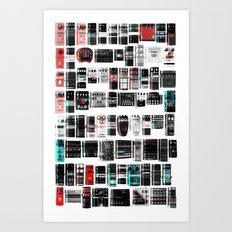 Pedal Pusher Art Print