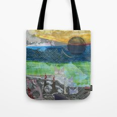 Feral Cat Family Tote Bag