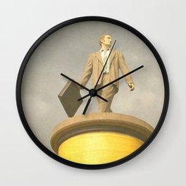 Säulenheilige Wall Clock