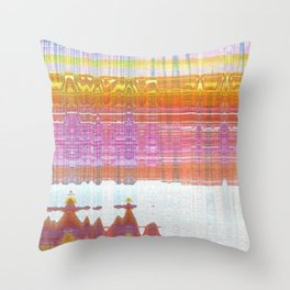 out of ink Throw Pillow