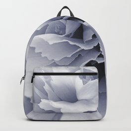 Grey Peony Bloom Backpack