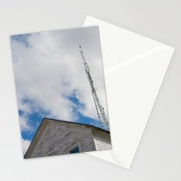 tower to the sky Stationery Cards