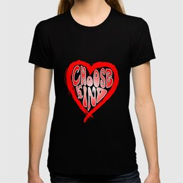 Choose Kind Heart Anti-Bullying Spreading Kindness T-shirt