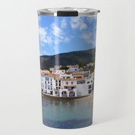 Old village of Cadaques Spain Travel Mug