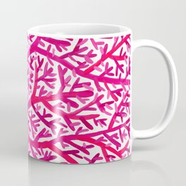 Fan Coral – Pink Ombré Coffee Mug