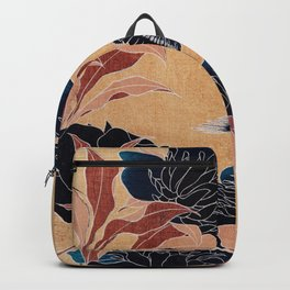 japanese flowers Backpack