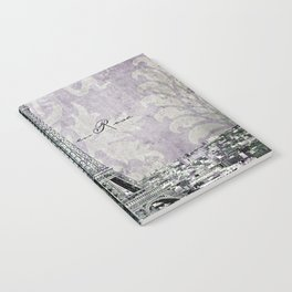 romantic Paris violet Notebook