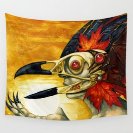 Raptor: Corvus Wall Tapestry