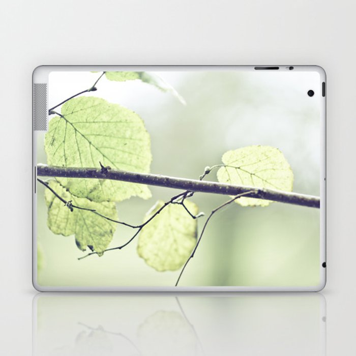 Last leaves of Fall Laptop & iPad Skin