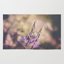 Purple Lupine Rug