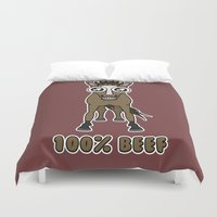 the 100 Duvet Covers featuring 100% Beef by George Beresford