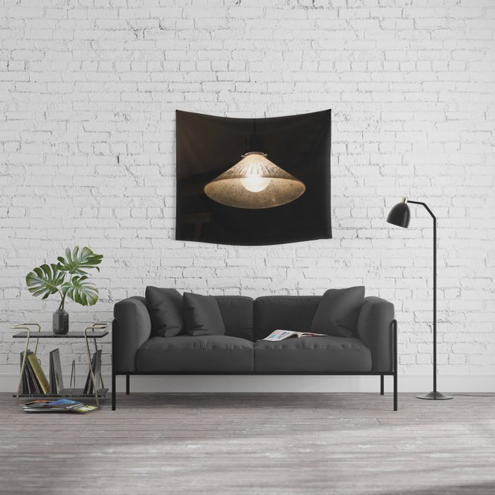 Beacon of Light in the Dark Wall Tapestry