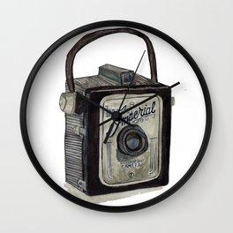 Imperial Camera 620 Wall Clock