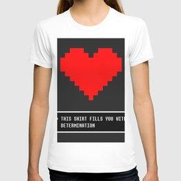 undertale determination T-shirt