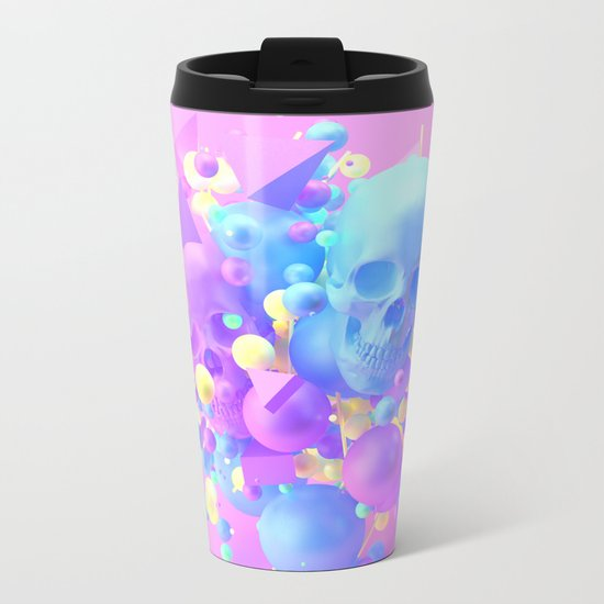 Side B Metal Travel Mug